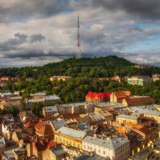 Замковая гора в туре выходного дня во Львове